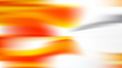 Orange and White Blur Background