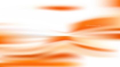 Orange and White Blur Background Vector Illustration