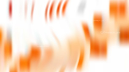 Orange and White Blur Photo Wallpaper Vector Art
