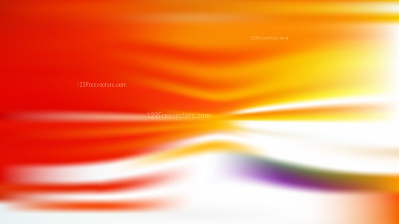 Red White and Yellow Blurred Background