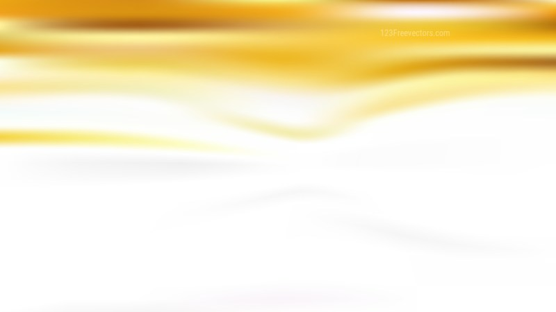 White and Gold Blurred Background Graphic