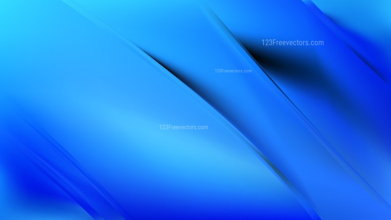 Abstract Blue Diagonal Shiny Lines Background