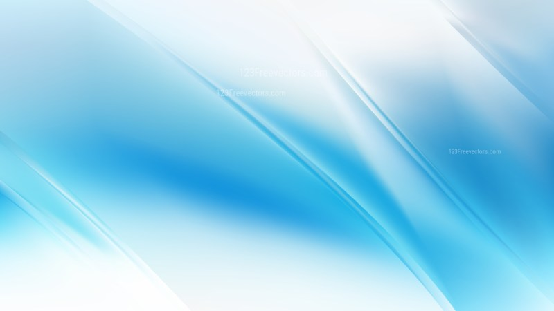 Abstract Blue and White Diagonal Shiny Lines Background Vector Image