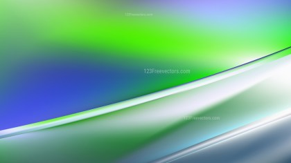 Abstract Blue Green and White Diagonal Shiny Lines Background