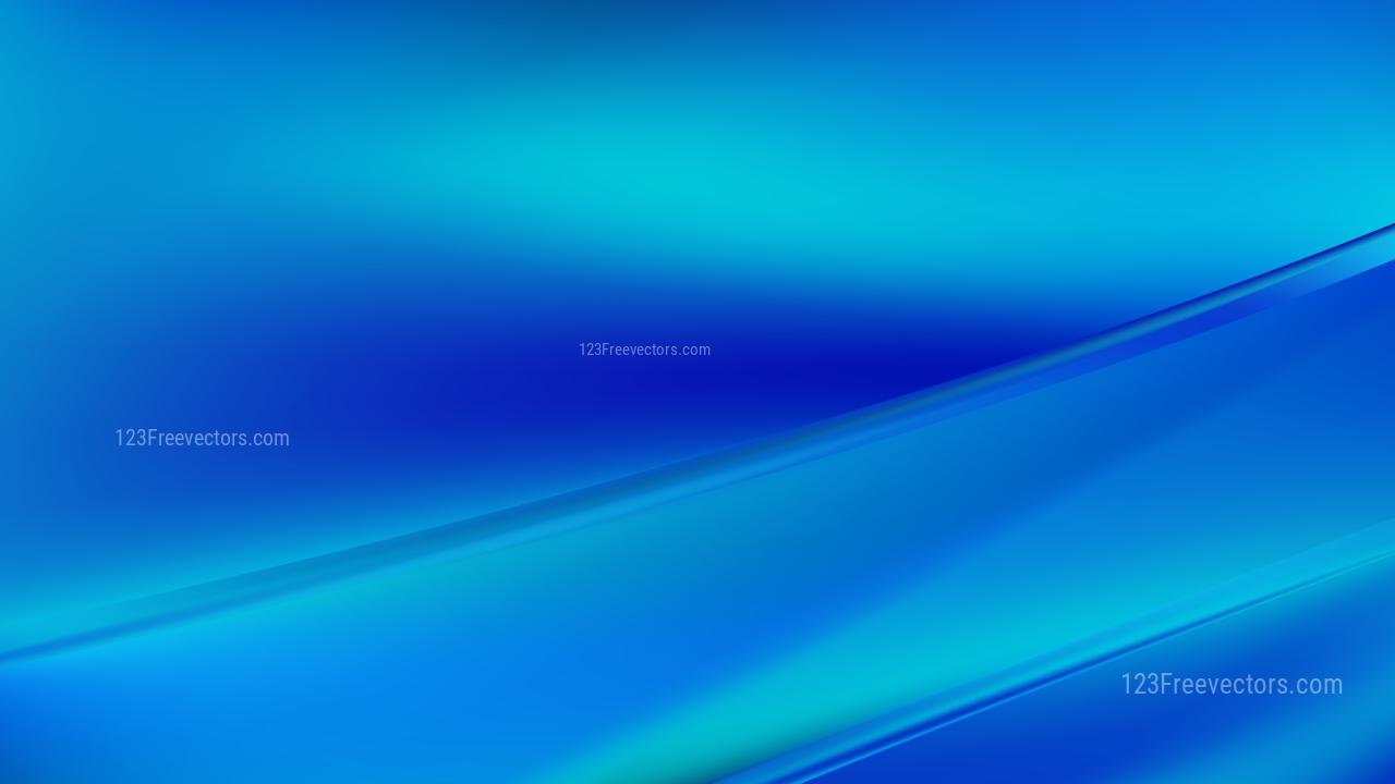 Bright Blue Diagonal Shiny Lines Background