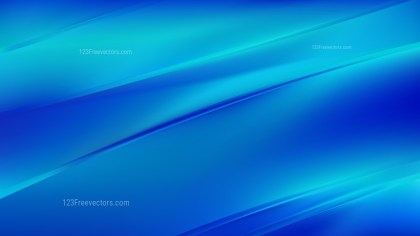 Abstract Bright Blue Diagonal Shiny Lines Background Design Template