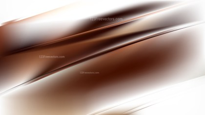 Brown and White Diagonal Shiny Lines Background Vector Art