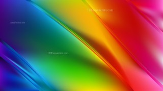 Abstract Colorful Diagonal Shiny Lines Background Design Template