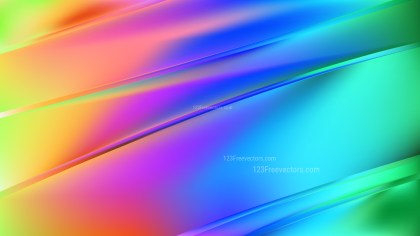 Colorful Diagonal Shiny Lines Background