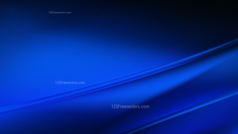 Abstract Cool Blue Diagonal Shiny Lines Background Design Template