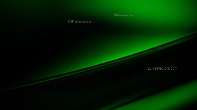 Abstract Cool Green Diagonal Shiny Lines Background Vector Image