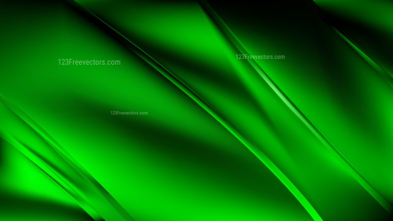 Cool Green Diagonal Shiny Lines Background Vector Art