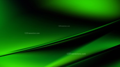 Cool Green Diagonal Shiny Lines Background Vector Illustration