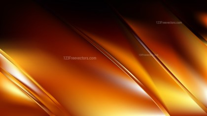 Cool Orange Diagonal Shiny Lines Background Vector Illustration