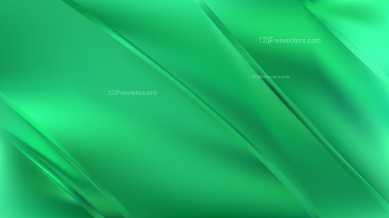 Emerald Green Diagonal Shiny Lines Background Vector Illustration