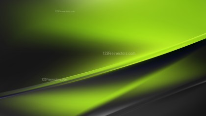 Abstract Green and Black Diagonal Shiny Lines Background Vector Image