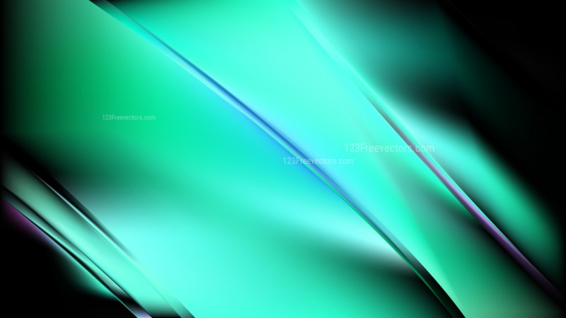 Abstract Green and Black Diagonal Shiny Lines Background Illustration