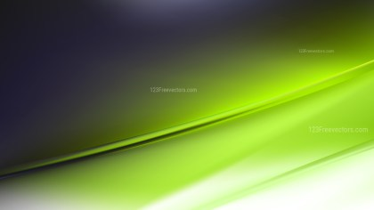 Abstract Green Black and White Diagonal Shiny Lines Background Illustration
