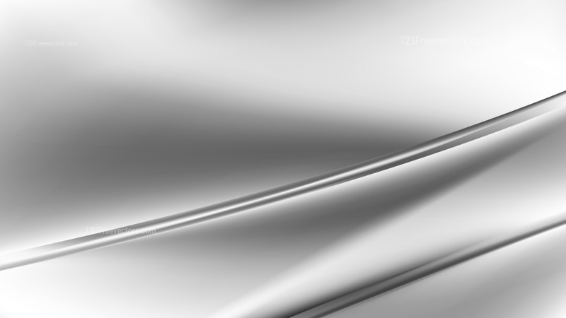 Abstract Grey and White Diagonal Shiny Lines Background Vector Image