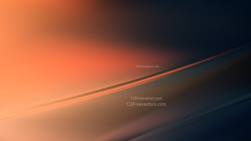 Orange and Black Diagonal Shiny Lines Background Vector Art