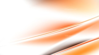 Abstract Orange and White Diagonal Shiny Lines Background Vector Image