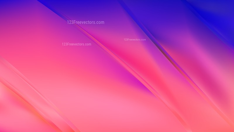 Abstract Pink and Blue Diagonal Shiny Lines Background Illustration