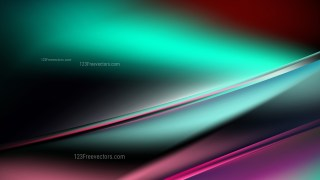 Abstract Pink Green and Black Diagonal Shiny Lines Background Design Template