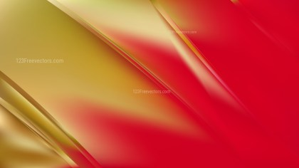 Red and Gold Diagonal Shiny Lines Background