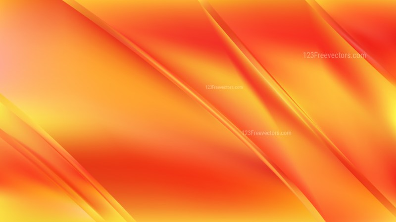 Abstract Red and Orange Diagonal Shiny Lines Background Vector Image