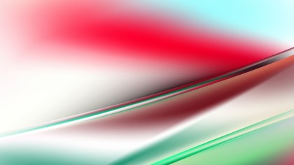 Red Green and White Diagonal Shiny Lines Background Vector Illustration