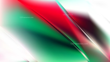 Abstract Red Green and White Diagonal Shiny Lines Background