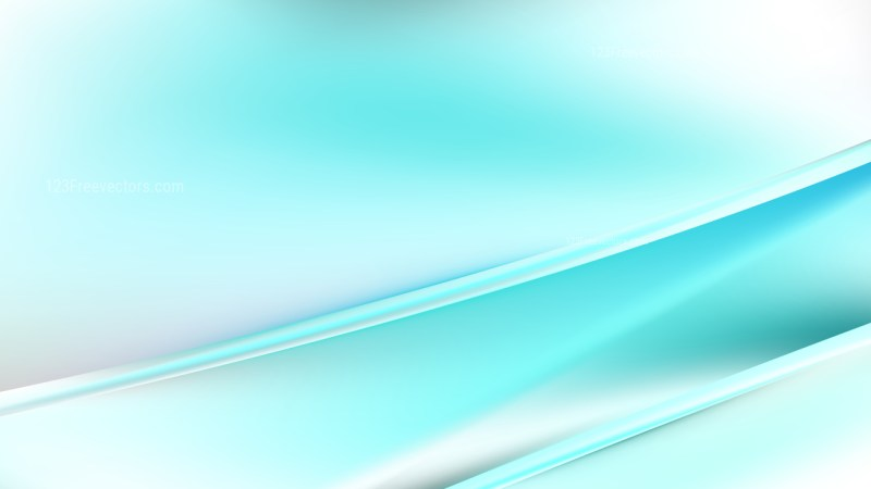 Abstract Turquoise and White Diagonal Shiny Lines Background