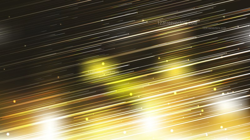 Shiny Black and Gold Diagonal Lines Abstract Background
