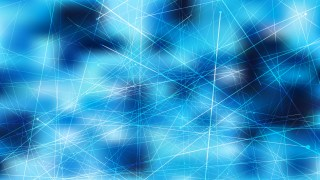 Abstract Chaotic Intersecting Lines Blue Background