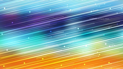 Abstract Shiny Blue and Orange Diagonal Lines Background Image