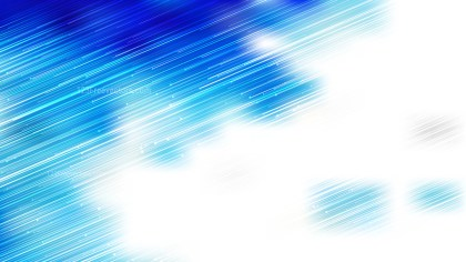 Abstract Shiny Blue and White Diagonal Lines Background Vector Image