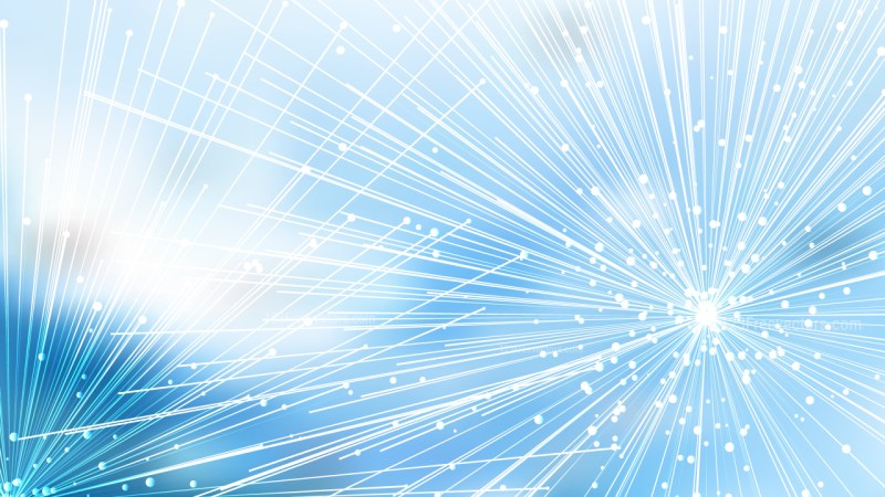 Abstract Dynamic Random Lines Blue and White Background