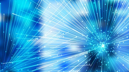 Abstract Chaotic Intersecting Lines Blue and White Background Vector Graphic