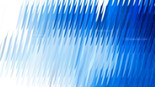 Blue and White Diagonal Lines and Stripes Background Vector Image
