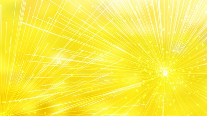 Abstract Random Chaotic Intersecting Lines Bright Yellow Background