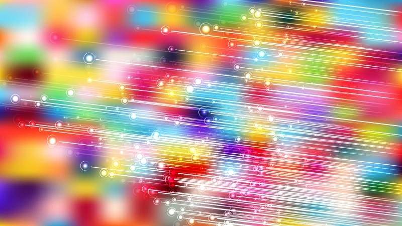Colorful Diagonal Glowing Lines Background