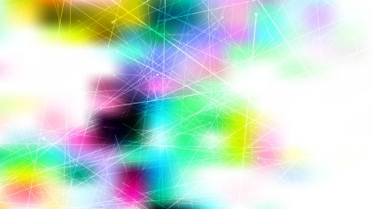 Abstract Chaotic Intersecting Lines Colorful Background Illustrator