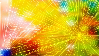 Abstract Random Intersecting Lines Colorful Background