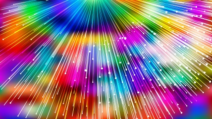 Abstract Colorful Burst Lines Background Design