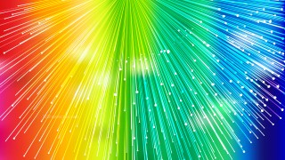 Colorful Radial Lines Background