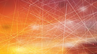 Abstract Random Chaotic Intersecting Lines Dark Orange Background