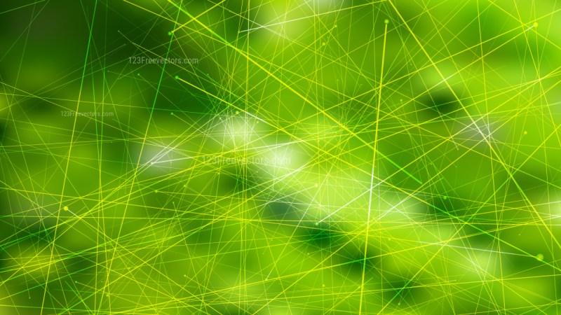 Abstract Green Asymmetric Irregular Lines Background Design