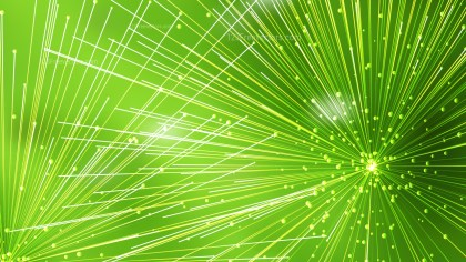 Abstract Random Intersecting Lines Green Background Vector Art