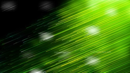 Shiny Green and Black Diagonal Lines Abstract Background Design