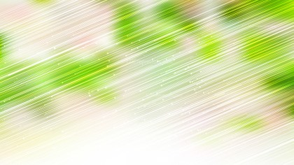 Abstract Shiny Green and White Diagonal Lines Background Illustration